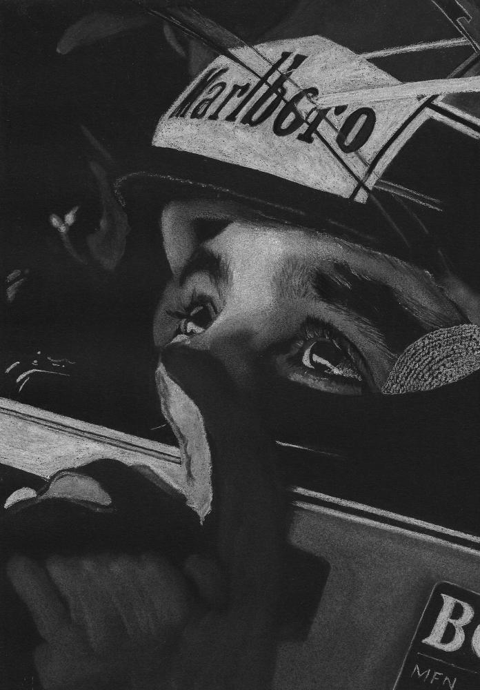 Ayrton Senna by wpascal